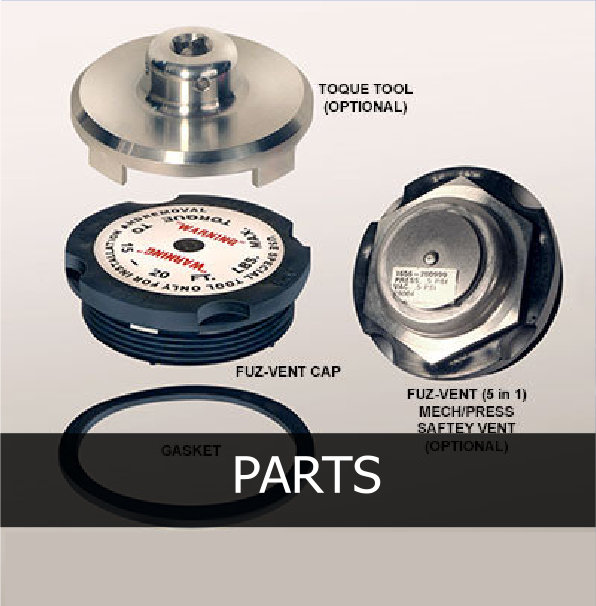 Parts for Tote & IBC Servicing